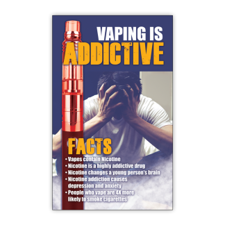 """""""Vaping is Addictive"""" Magnet"""